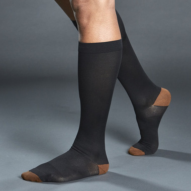 Tommie Copper Compression Socks Black S/M
