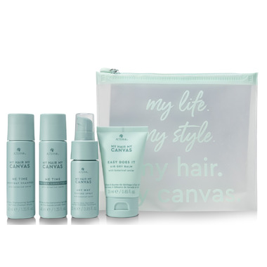 My Hair. My Canvas. Me Time. Any Time. Kit