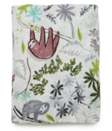 Loulou Lollipop Muslin Crib Sheet Sloth