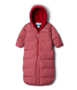 Columbia Pike Lake Convertible Onesie Pomegranate Heather