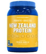 Schinoussa Probiotic New Zealand Whey Isolate Protein French Vanilla