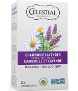 Celestial Seasonings Organic Chamomile Lavender Herbal Tea