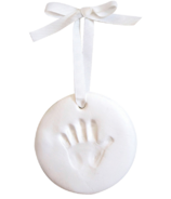 Pearhead Babyprints Keepsake Ornament White