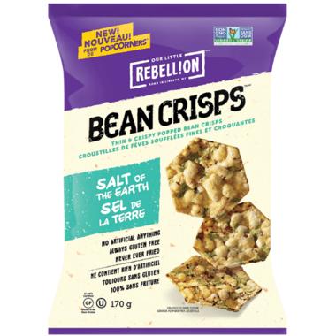 Bean Crisps Salt of the Earth Bean Chips