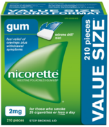 Nicorette Nicotine Gum Chill Mint 2mg