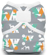 Thirsties Duo Wrap Hook & Loop Diaper Mountain Range