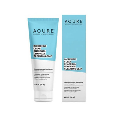 Acure Clear Charcoal Cleansing Clay