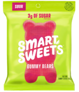 SmartSweets Sour Gummy Bears Pouch
