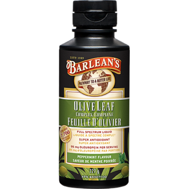 Barlean\'s Olive Leaf Complex Peppermint Flavor