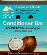 Mountain Sky Coconut Cream Conditioner Bar