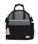 Skip Hop Nolita Neoprene Diaper Backpack Black and Grey