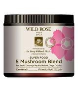 Mélange de 5 champignons Wild Rose Super Food