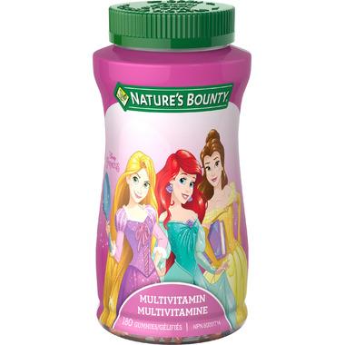 Nature\'s Bounty Disney Princess Multivitamin Gummies