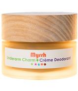 Living Libations Underarm Charm Cream Deodorant Myrrh