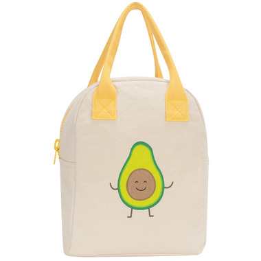 Fluf Zippered Lunch Avocado - Well.ca Exclusive