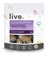 Live Organic Spicy Sunflower Nori Snacks
