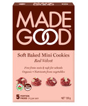 MadeGood Red Velvet Soft Baked Mini Cookies