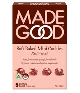MadeGood Red Velvet Soft Baked Mini Cookies
