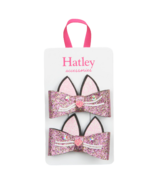 Hatley Glitter Kitties Hair Clips