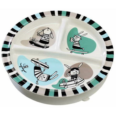 Sugarbooger Divided Suction Plate Ryder the Rabbit