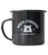 North Standard Trading Post Varsity Enamel Mug Black