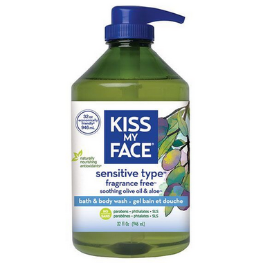 Kiss My Face Sensitive Type Fragrance Free Bath & Body Wash