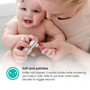 bbluv Trimo Electric Nail Trimmer for Baby