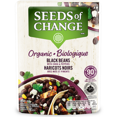 Seeds of Change Black Beans with Corn & Peppers