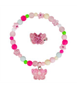 Great Pretenders Sparkle Butterfly Bracelet & Ring Set