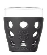 Lifefactory Small Beverage Glass Carbon