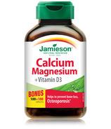Jamieson Calcium Magnesium with Vitamin D3 Bonus Pack