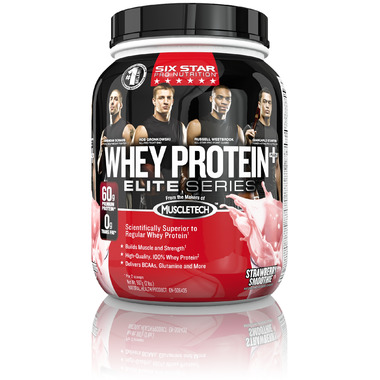 Six Star Pro Nutrition Whey Protein Plus