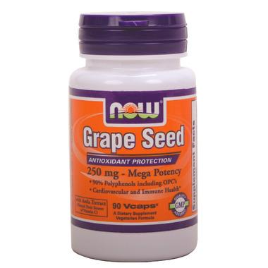NOW Foods Grape Seed Mega Potency