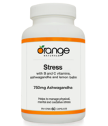 Orange Naturals Stress with Ashwagandha