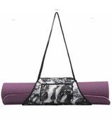 MYTAGALONGS Nouveau Noir Yoga Mat Carrier