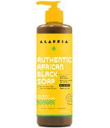 Alaffia Authentic African Peppermint Black Soap