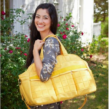 Lug Airbus Weekender Bag Heather Black