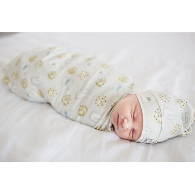Copper Pearl Chip Swaddle Blanket
