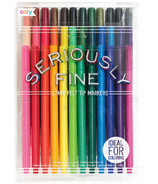OOLY Seriously Fine Felt Tip Markers