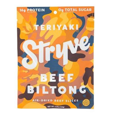 Stryve Teriyaki Beef Jerky