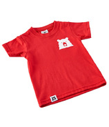 North Standard Trading Post Kids Mascot Tee Red & White