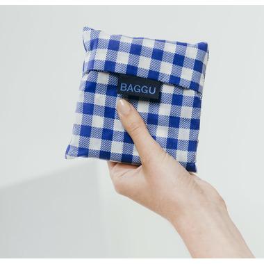 Baggu Standard Baggu Reusable Bag in Blue Gingham