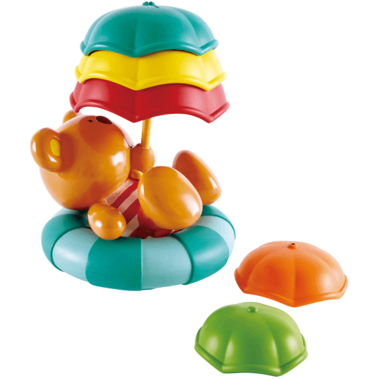 Hape Teddy\'s Umbrella Stackers