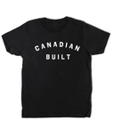 Peace Collective Canadian Built Kids T-Shirt Black