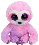 Ty Beanie Boo's Dreamy the Purple Sloth Regular