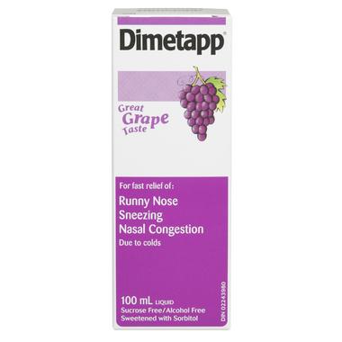 Dimetapp Cold Liquid