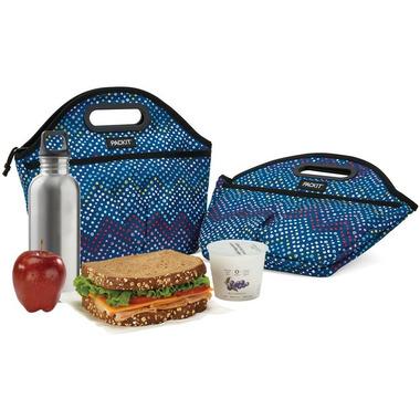 PackIt Traveler Lunch Bag Dottie Chevron