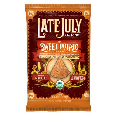 Late July Organic Sweet Potato Multigrain Snack Chips