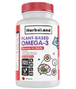 Herbaland Plant-Based Omega-3 Gummies