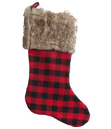 Harman Buffalo Check Stocking Red